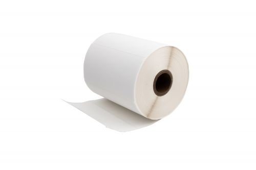 Compatible Zebra ZA4X2-750 White Standard Shipping Paper Labels Roll