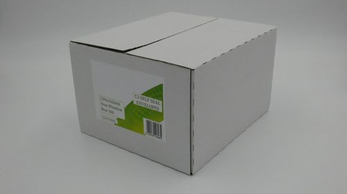 C5 Envelopes Non Window Self Seal 90gsm White (Pack of 500)