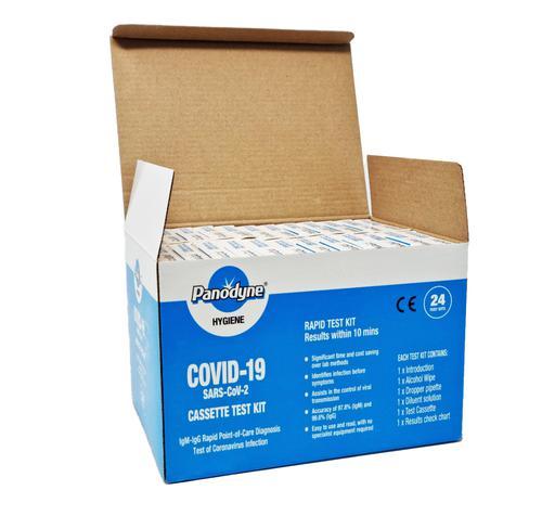 Panodyne SARS-CoV2 Antibody Test Kit Box of 24
