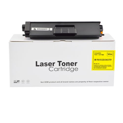 Remanufactured Brother TN325Y Yellow Toner