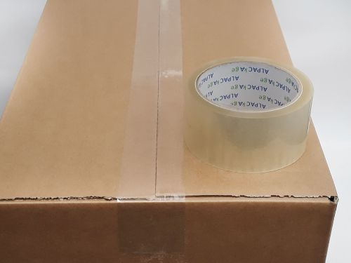 Clear Low Noise Tape 48mm 66m 40mu Box 36