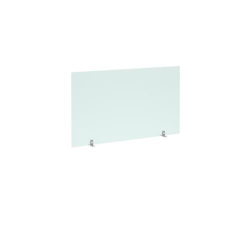 Freestanding Privacy Shield (1200w x 700h on Stabilising Feet with No Cut-Out  - Acrylic Finish (AHFS1200)