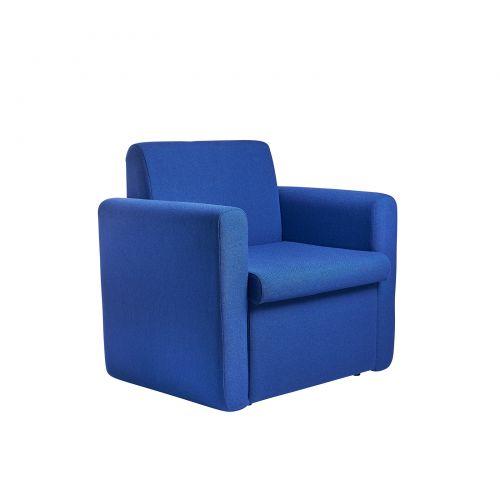 Alto Reception Chair Module Double Arm Blue ALT50004-B