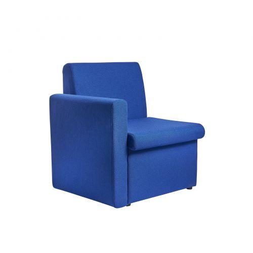 Alto Reception Chair Module Right Arm Blue ALT50006-B