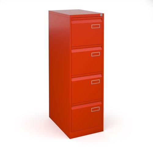 Bisley Two Drawer Steel Home Filing Cabinet Orange File2: Bisley Steel 4 Drawer Public Sector Contract Filing