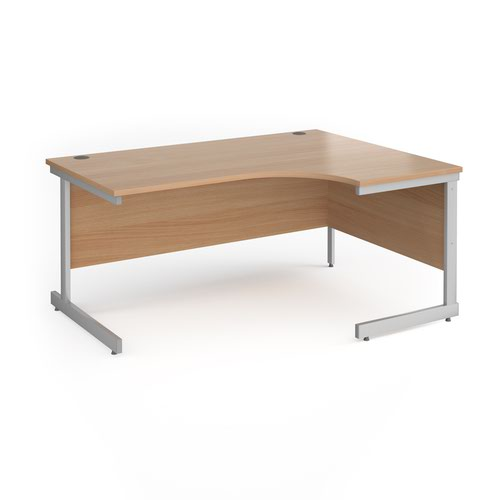 Contract 25 cantilever leg RH ergonomic desk