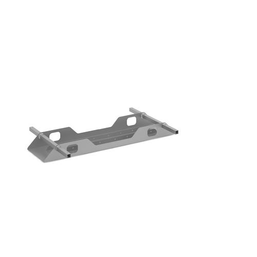 Connex double cable tray 1200mm - silver