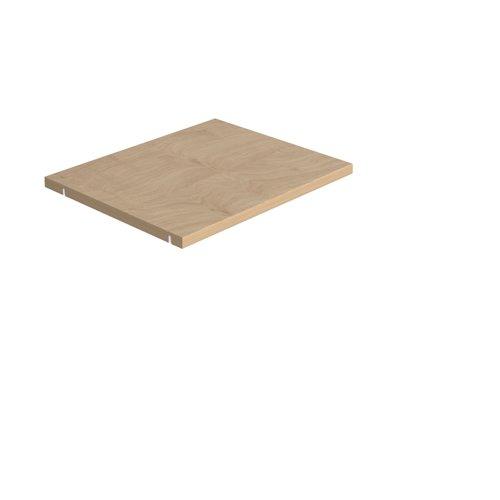 Storage unit insert - inner shelf - oak