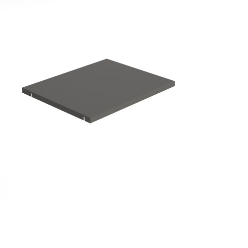 Storage unit insert - inner shelf - grey