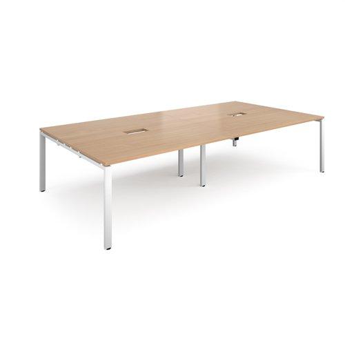 Adapt rectangular power ready boardroom table