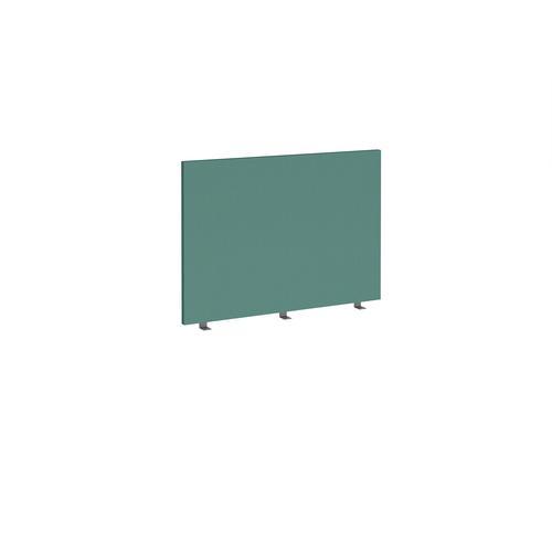 Straight high desktop fabric screen 1000mm x 700mm - carron green