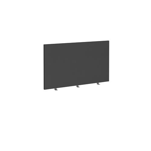 Straight high desktop fabric screen 1200mm x 700mm - black