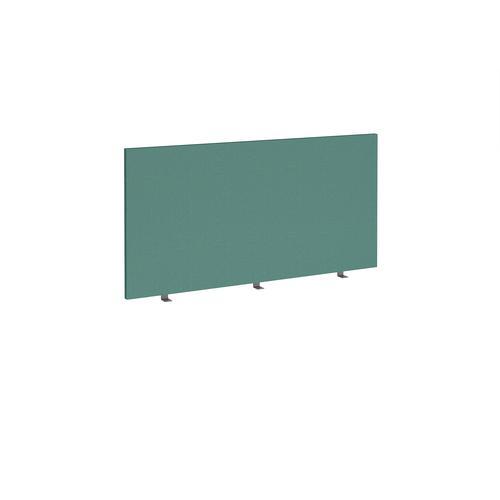 Straight high desktop fabric screen 1400mm x 700mm - carron green