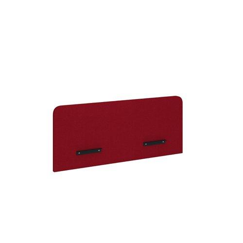 Vibe desktop screen for single desks 1400mm x 600mm - made to order