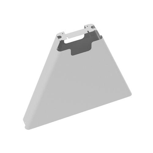Fuze mass vertical cable riser for intermediate bench leg - white
