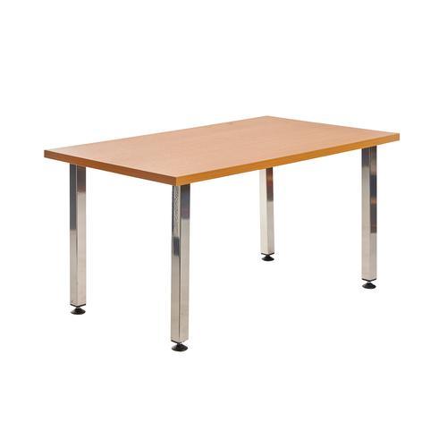 Helsinki rectangular wooden reception table
