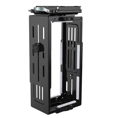 Halo large under desk CPU holder - black