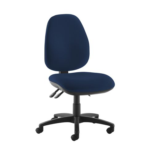 Jota high back operator chair with no arms - Costa Blue