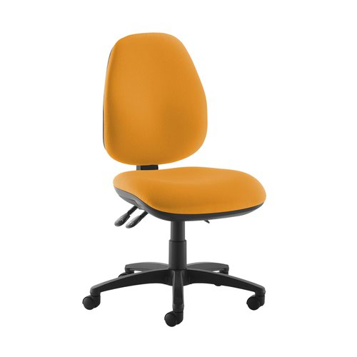 Jota high back operator chair with no arms - Solano Yellow