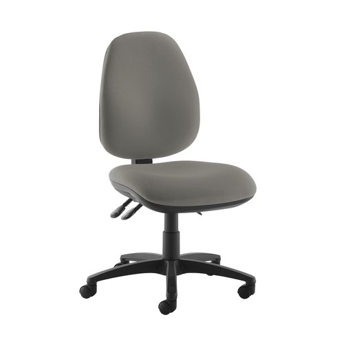 Jota high back operator chair with no arms - Slip Grey