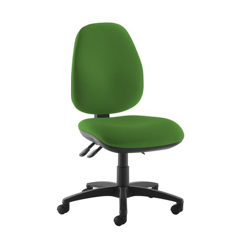 Jota high back operator chair with no arms - Lombok Green