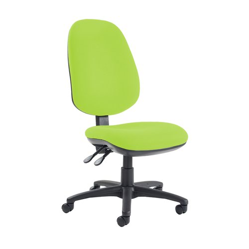 Jota extra high back operator chair with no arms - Madura Green