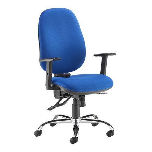 Jota ergo 24hr ergonomic asynchro task chair - blue