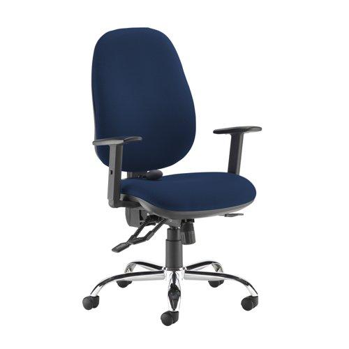 Jota ergo 24hr ergonomic asynchro task chair - Costa Blue