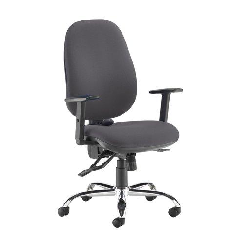 Jota ergo 24hr ergonomic asynchro task chair - Blizzard Grey