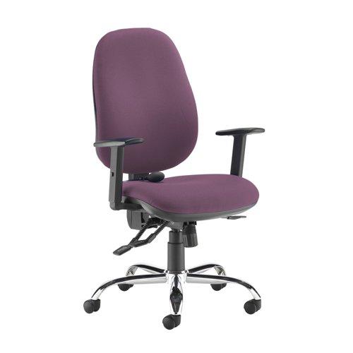 Jota ergo 24hr ergonomic asynchro task chair - Bridgetown Purple