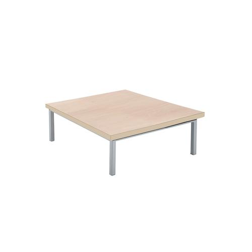 Kraft square coffee table 700mm x 700mm with oak top - made to order