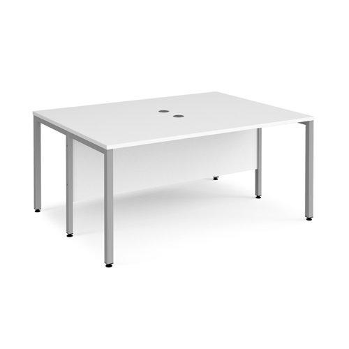 Maestro 25 bench back to back straight desks 1200mm