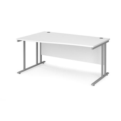 Maestro 25 cantilever left hand wave desk
