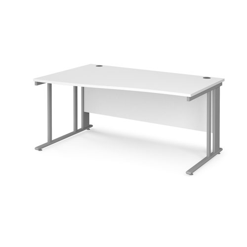 Maestro 25 cable managed left hand wave desk
