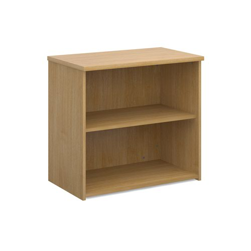 Dams 1 Shelf Bookcase 740H/800W/470D 25mm Top Oak