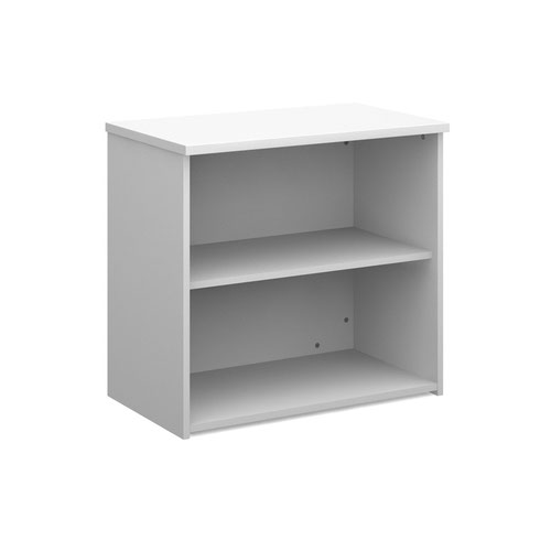 Dams 1 Shelf Bookcase 740H/800W/470D 25mm Top White