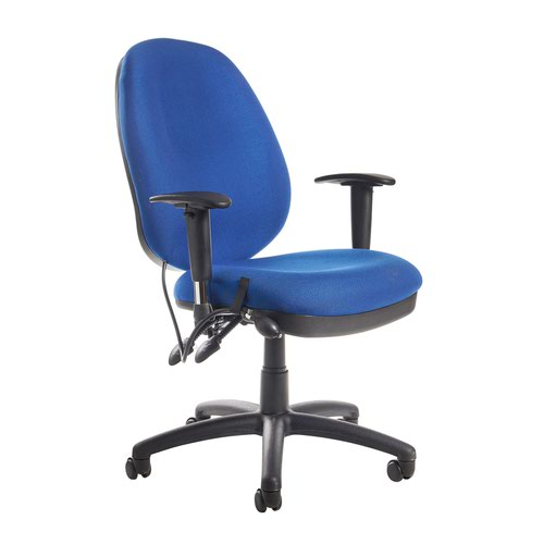 Sofia Managers High Back Chair Blue SOF300T1-B