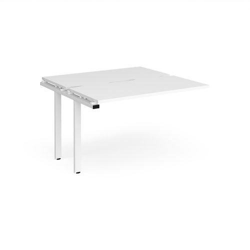 Adapt sliding top add on units 1200mm x 1200mm - white frame and white top