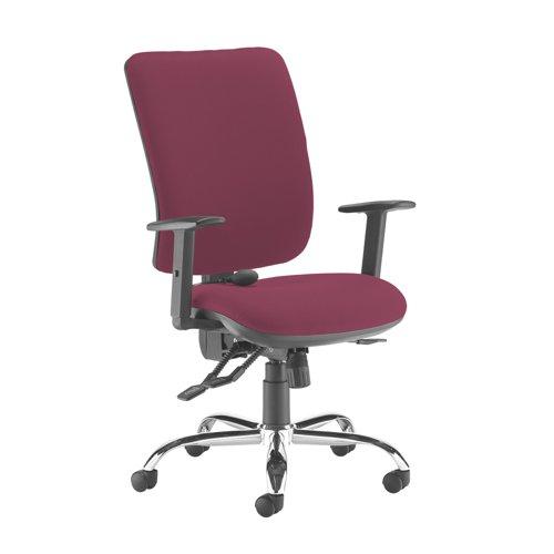 Senza ergo 24hr ergonomic asynchro task chair - Diablo Pink