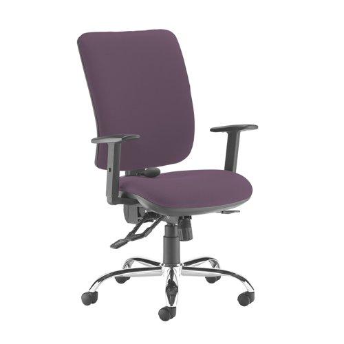 Senza ergo 24hr ergonomic asynchro task chair - Bridgetown Purple