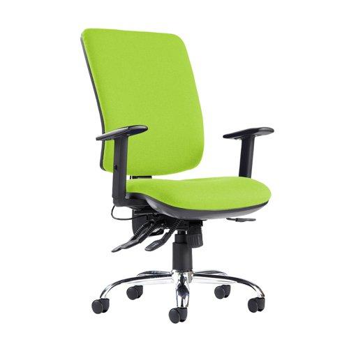 Senza ergo 24hr ergonomic asynchro task chair - Madura Green