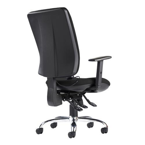 Senza ergo 24hr ergonomic asynchro task chair - black