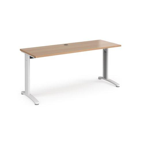 TR10 straight desk 600mm deep