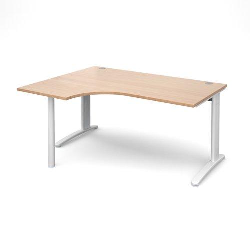 TR10 left hand ergonomic desk
