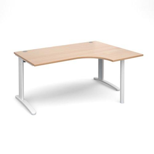 TR10 right hand ergonomic desk