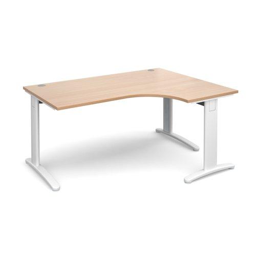 TR10 deluxe right hand ergonomic desk