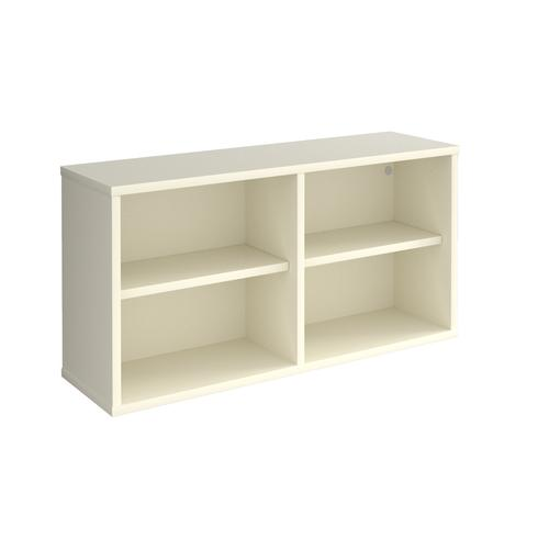 Universal box shelving unit 800mm wide - white