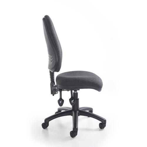 Vantage 100 2 lever PCB operators chair with no arms - black | SO-V100-00-K | Dams International