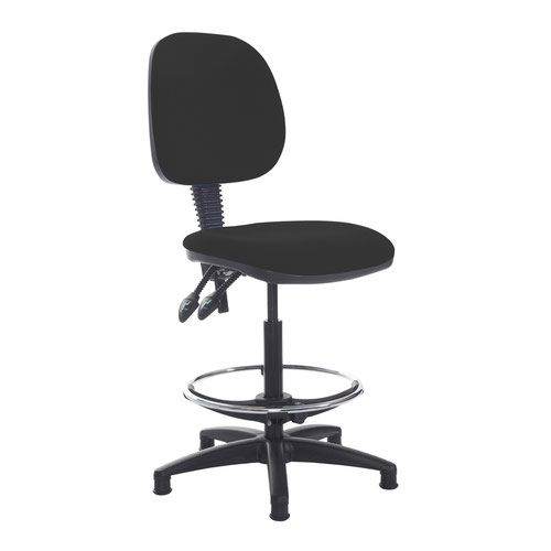 Jota draughtsmans chair with no arms - Havana Black