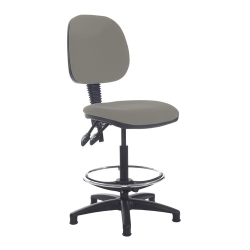 Jota draughtsmans chair with no arms - Slip Grey